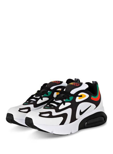 Nike Sneaker AIR MAX 200, Farbe: WEISS/ SCHWARZ (Bild 1)