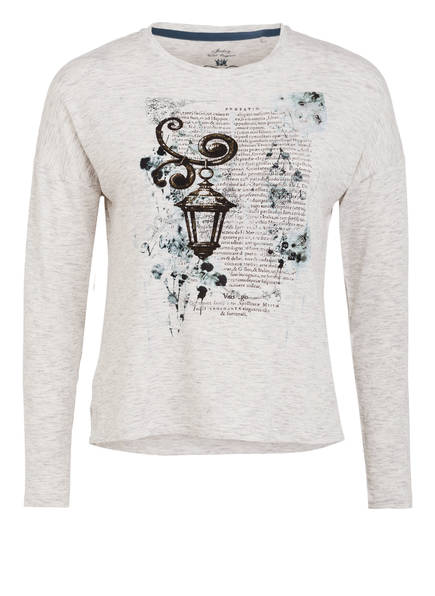 JOCKEY Lounge-Shirt, Farbe: HELLGRAU MELIERT (Bild 1)