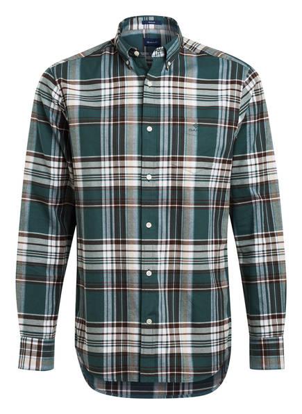 GANT Oxford-Hemd Regular Fit, Farbe: GRÜN/ WEISS (Bild 1)