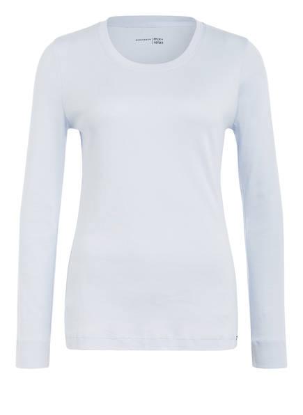 SCHIESSER Schlafshirt, Farbe: HELLBLAU (Bild 1)