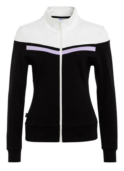 JOY sportswear Sweatjacke PETRA, Farbe: SCHWARZ/ WEISS (Bild 1)