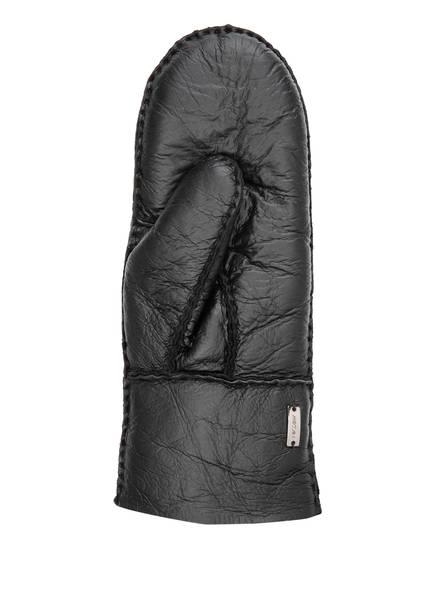 MARCCAIN Fäustlinge aus Leder, Farbe: 900 BLACK (Bild 1)
