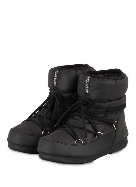 MOON BOOT Moon Boots NYLON LOW WP 2, Farbe: SCHWARZ (Bild 1)