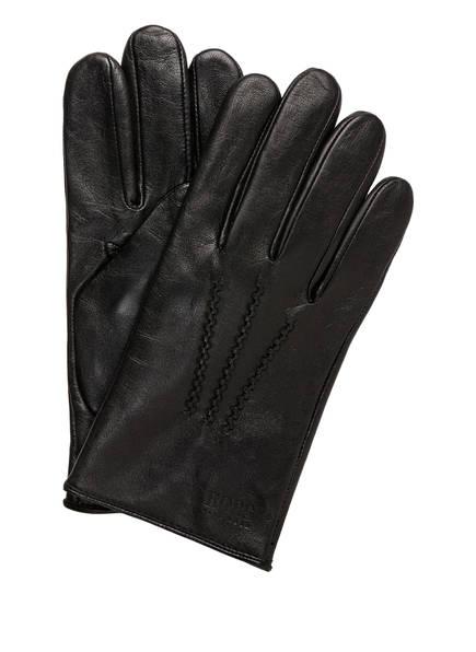 BOSS Lederhandschuhe GRIFIN, Farbe: SCHWARZ (Bild 1)