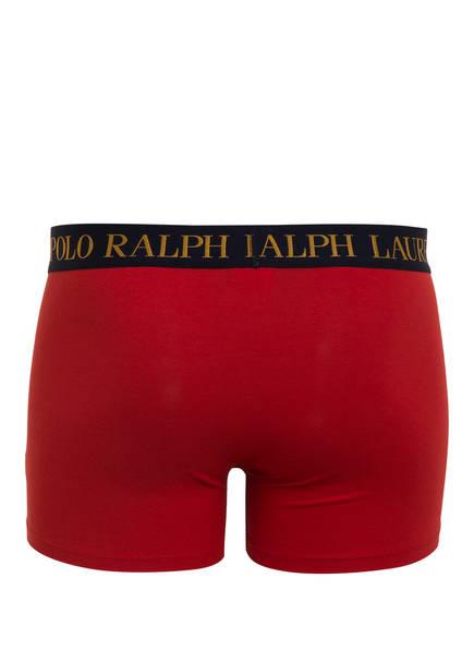 3er-Pack Boxershorts von POLO RALPH LAUREN   HELLGRAU/ DUNKELBLAU/ ROT