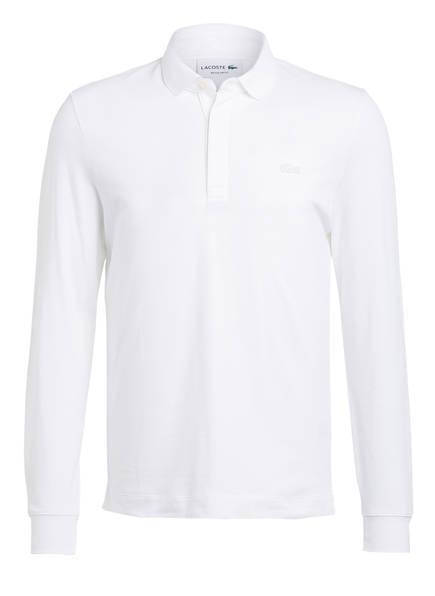 LACOSTE Piqué-Poloshirt Regular Fit, Farbe: WEISS (Bild 1)