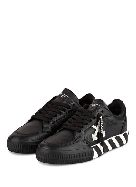 OFF-WHITE Sneaker ARROW LOW VULCANIZED, Farbe: SCHWARZ/ WEISS (Bild 1)