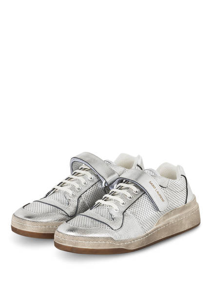 SAINT LAURENT Sneaker SL24, Farbe: SILBER (Bild 1)