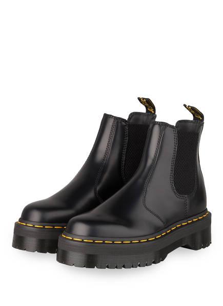 Dr. Martens Chelsea-Boots 2976 QUAD, Farbe: SCHWARZ (Bild 1)