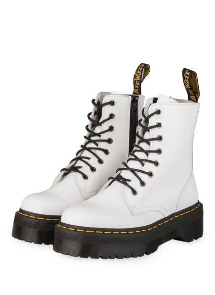 Dr. Martens Biker Boots JADON, Farbe: WEISS (Bild 1)