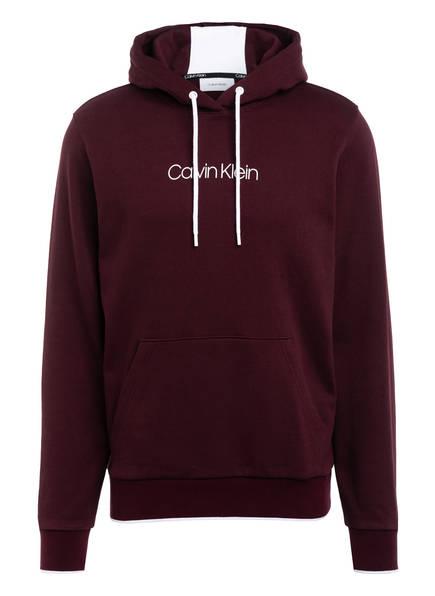Calvin Klein Hoodie, Farbe: DUNKELROT (Bild 1)