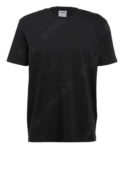 diadora T-Shirt 5PALLE, Farbe: SCHWARZ (Bild 1)