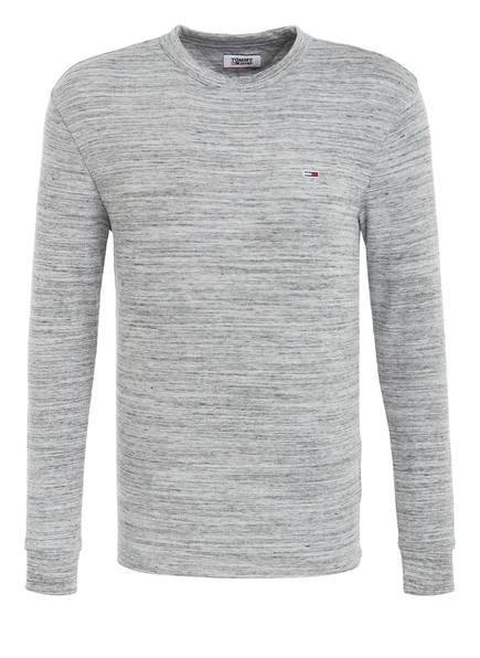 TOMMY JEANS Langarmshirt, Farbe: GRAU MELIERT (Bild 1)