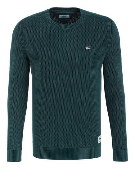 TOMMY JEANS Pullover, Farbe: DUNKELGRÜN/ GRÜN (Bild 1)