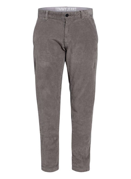 TOMMY JEANS Cordhose Tapered Fit, Farbe: GRAU (Bild 1)