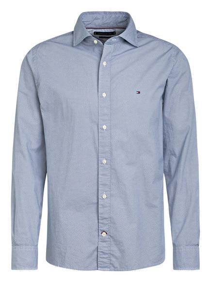 TOMMY HILFIGER Hemd Regular Fit, Farbe: WEISS/ DUNKELBLAU (Bild 1)