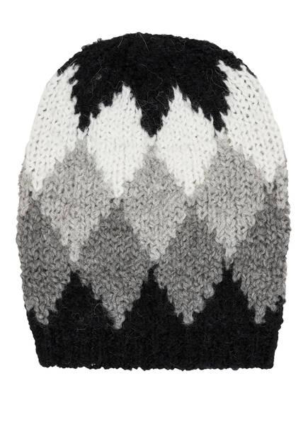 WOOLRICH Mütze FLAME, Farbe: SCHWARZ/ GRAU/ WEISS (Bild 1)