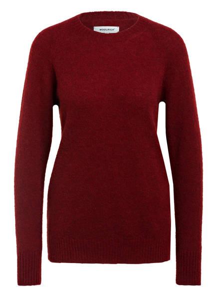 WOOLRICH Pullover , Farbe: DUNKELROT (Bild 1)