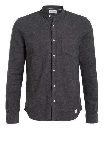 NOWADAYS Hemd Slim Fit, Farbe: DUNKELGRAU (Bild 1)