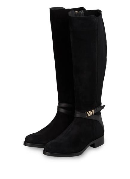 TOMMY HILFIGER Stiefel schwarz Stiefel