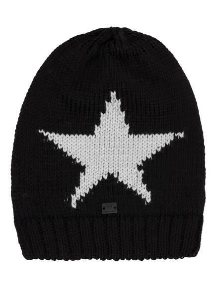FIRE+ICE Mütze STARS, Farbe: SCHWARZ/ GRAU (Bild 1)