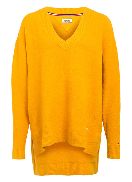 TOMMY JEANS Pullover, Farbe: DUNKELGELB (Bild 1)