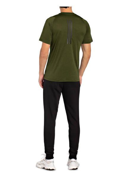 ADIDAS Sportoberteile | Adidas T-Shirt Freelift Tech Climacool Fitted gruen