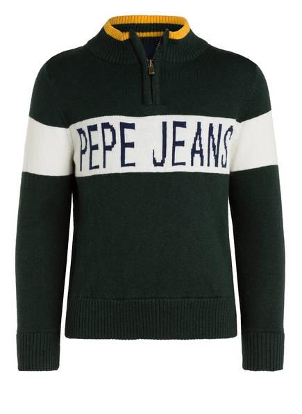 Pepe Jeans Pullover, Farbe: GRÜN/ ECRU (Bild 1)