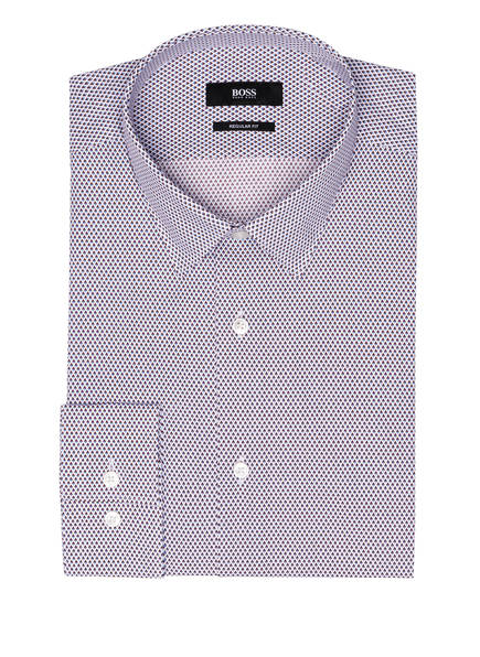 BOSS Hemd ELIOTT Regular Fit, Farbe: WEISS/ DUNKELROT/ HELLBLAU (Bild 1)