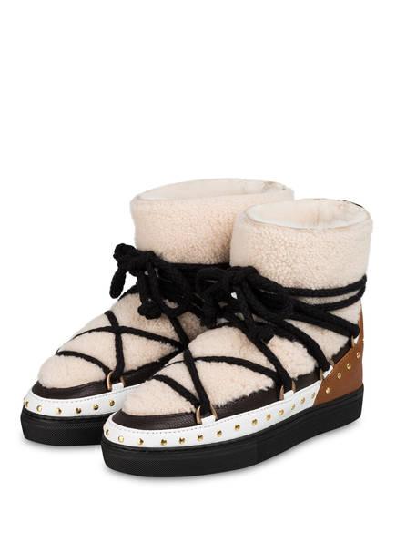 INUIKII Boots, Farbe: CREME/ SCHWARZ/ WEISS (Bild 1)