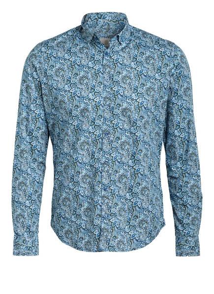 Q1 Manufaktur Hemd SANDRO Extra Slim Fit, Farbe: BLAU/ HELLBLAU/ WEISS (Bild 1)