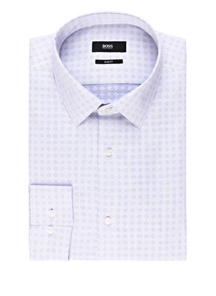 BOSS Hemd ISKO Slim Fit, Farbe: WEISS/ DUNKELBLAU (Bild 1)