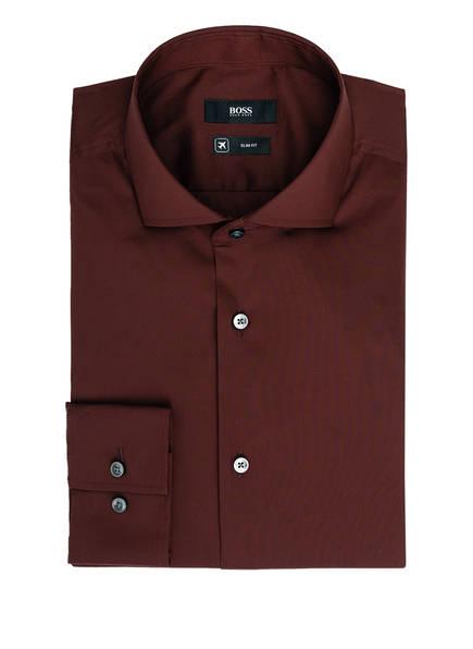 BOSS Hemd JASON Slim Fit, Farbe: DUNKELROT (Bild 1)