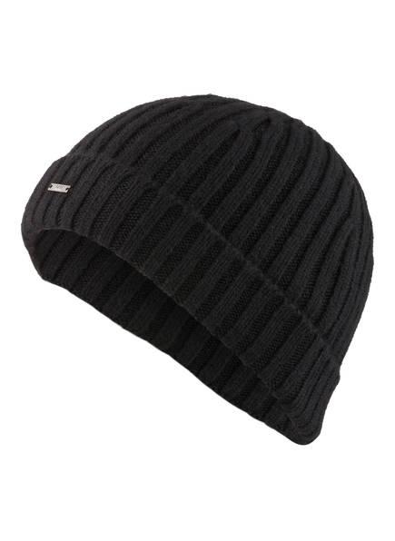 BOSS Cashmere-Mütze T-ERAFFAELO, Farbe: SCHWARZ (Bild 1)