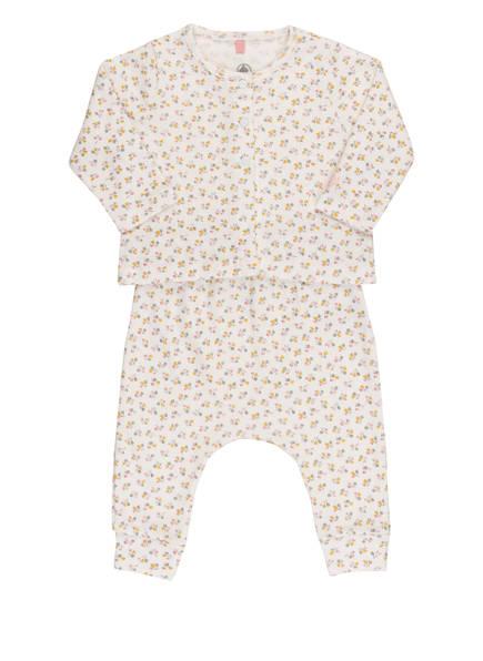PETIT BATEAU Set: Body, Jacke und Hose , Farbe: WEISS/ ALTROSA (Bild 1)