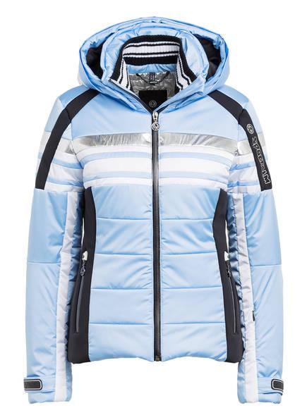 SPORTALM Skijacke, Farbe: HELLBLAU/ WEISS/ SCHWARZ (Bild 1)