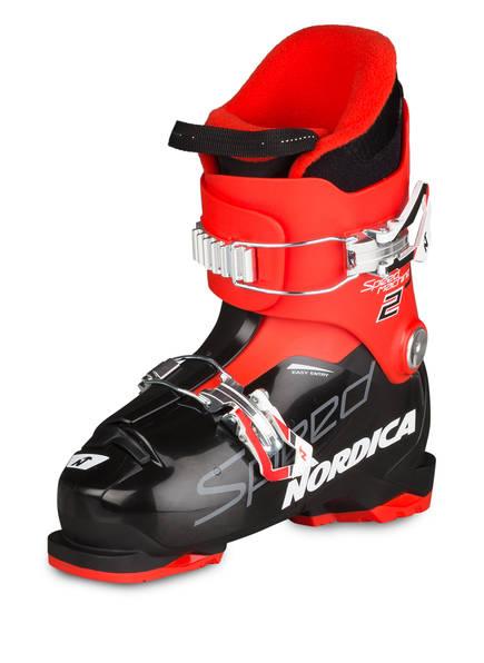 NORDICA Skischuhe SPEEDMACHINE J2, Farbe: ROT/ SCHWARZ (Bild 1)