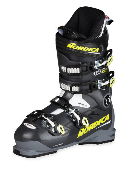 NORDICA Skischuhe SPORTMACHINE 100 , Farbe: ANTHRAZIT/ WEISS/ GELB (Bild 1)