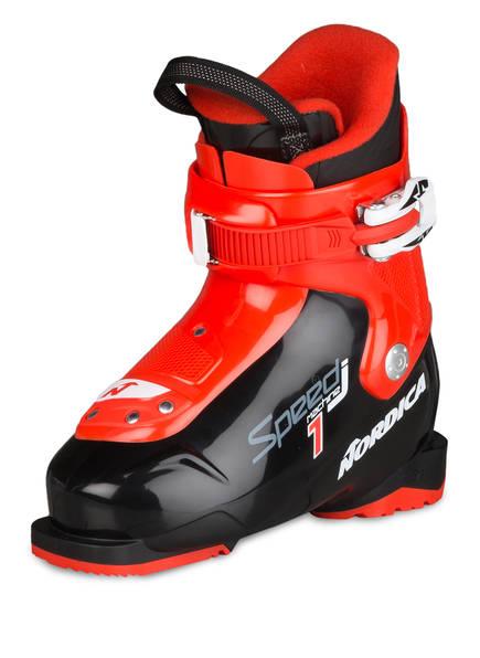 NORDICA Skischuhe SPEEDMACHINE J1, Farbe: SCHWARZ/ ROT (Bild 1)