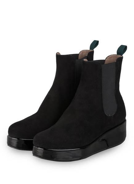 VIAMERCANTI Chelsea-Boots ILARIA, Farbe: SCHWARZ (Bild 1)
