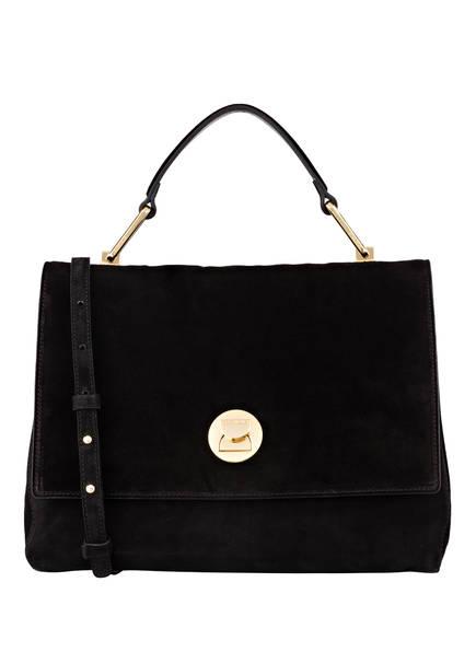 COCCINELLE Handtasche LIYA MEDIUM, Farbe: SCHWARZ (Bild 1)