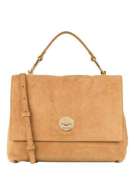 COCCINELLE Handtasche LIYA MEDIUM, Farbe: CAMEL (Bild 1)