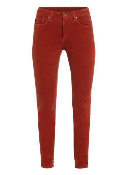 Pepe Jeans Cordhose Regent Skinny Fit braun