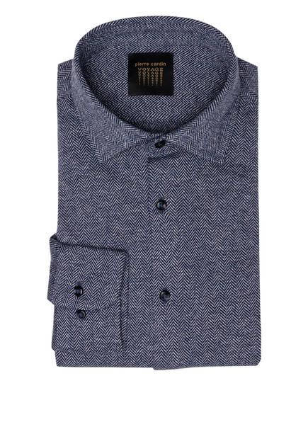 pierre cardin Jersey-Hemd Slim Fit, Farbe: BLAU/ WEISS (Bild 1)