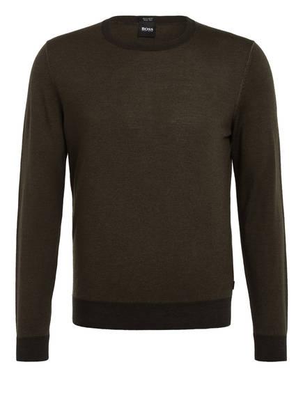 BOSS Pullover, Farbe: DUNKELGRÜN (Bild 1)