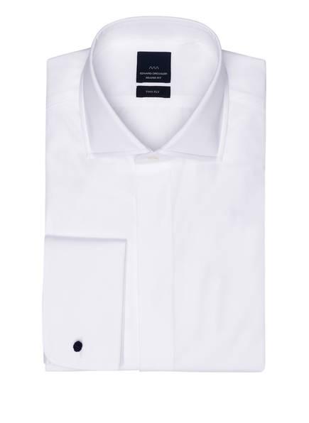 EDUARD DRESSLER Smoking-Hemd Shaped Fit mit Umschlagmanschette, Farbe: WEISS (Bild 1)