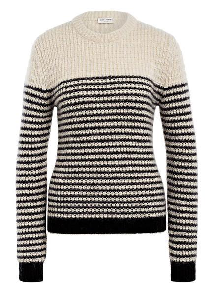 SAINT LAURENT Pullover, Farbe: CREME/ SCHWARZ (Bild 1)