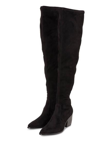 KENNEL & SCHMENGER Overknee-Stiefel LUNA, Farbe: SCHWARZ (Bild 1)