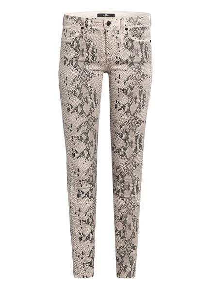 7 for all mankind Skinny Jeans, Farbe: CH WHITE (Bild 1)