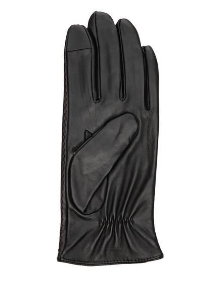 Joop! Lederhandschuhe schwarz